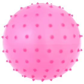 Мячик массажный, матовый пластизоль, d=14 см, 30 г, МИКС Ош