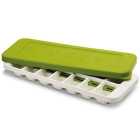 Форма для льда Joseph Joseph QuickSnap Plus, бело-зелёная