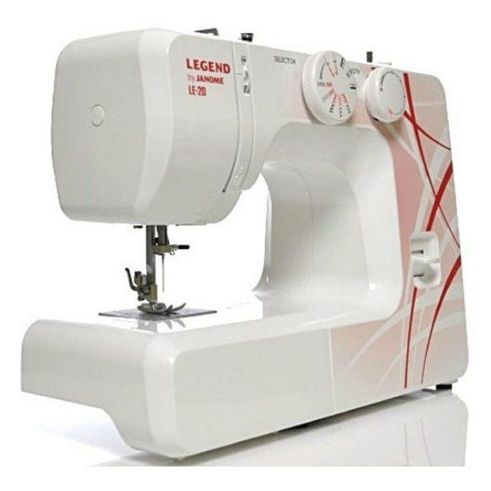 Швейная машина Legend by Janome LE20, 15 операций, потайная, эластичная строчка
