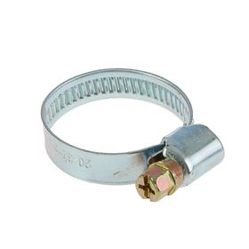 Хомут оцинкованный TUNDRA krep, несквозная просечка, диаметр 20-32 мм, ширина 9 мм Ош