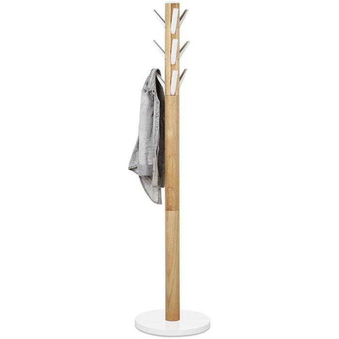 Вешалка Flapper, напольная, белая, дерево