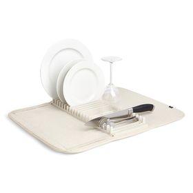 Коврик для сушки посуды Udry, экрю