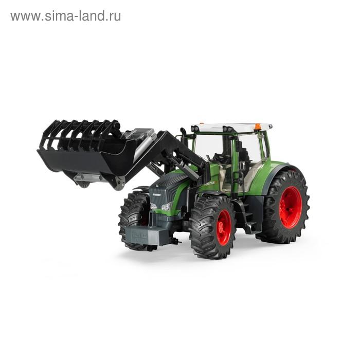Трактор Fendt 936 Vario, с погрузчиком