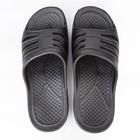 Слайдеры мужские «Тайм», цвет чёрный, размер 42/43