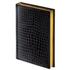 Ежедневник полудатированный А5, 192 листа, Alligator, под крокодиловую кожу, 148 х 218 мм, кремовая бумага, золотой срез