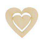 Заготовка сердце в сердце 5х5 см