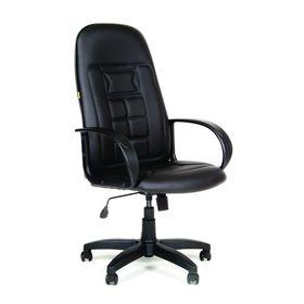 Кресло руководителя Chairman 727 Терра  матовый черный.