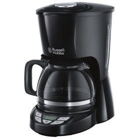 Кофеварка Russell Hobbs Textures Plus+ 22620-56, капельная, 2400 Вт, 1.25 л, чёрная