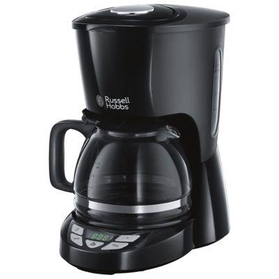 Кофеварка Russell Hobbs Textures Plus+ 22620-56, капельная, 2400 Вт, 1.25 л, чёрная - Фото 1