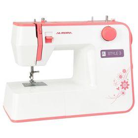 Швейная машина Aurora Style 3, 10 операций, обметочная, потайная, эластичная строчка Ош