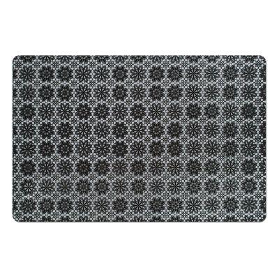 Подставка под горячее, размер 43,5х28,5 см, цвет чёрный - Фото 1