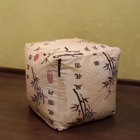 Пуфик «Стебли бамбука»