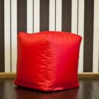 Пуфик, цвет красный