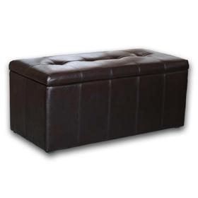 Банкетка-пуф «Лонг», коричневая Ош