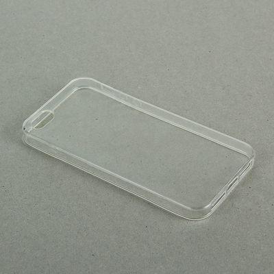 Чехол LuazON для телефона iPhone 5/5S, силиконовый, тонкий, прозрачный - Фото 1