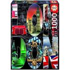 Пазл «Лондон», коллаж, 1000 деталей
