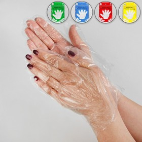 Перчатки полиэтиленовые, пара