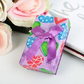 "Коробка подарочная ""Сердца"" 8 х 5 х 2,5 см"