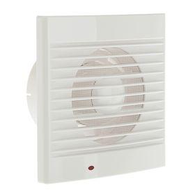 Вентилятор вытяжной TDM 'ЭКО' 100 С, 230 В, настенный, d=100 мм, SQ1807-0001 Ош