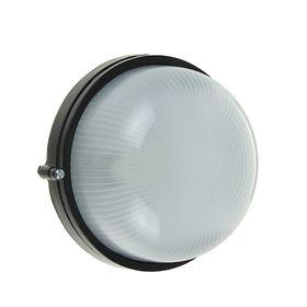 Светильник TDM НПБ1301, Е27, 60 Вт, IP54, круглый, черный Ош
