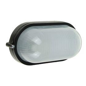 Светильник TDM НПБ1401, Е27, 60 Вт, IP54, овальный, черный Ош
