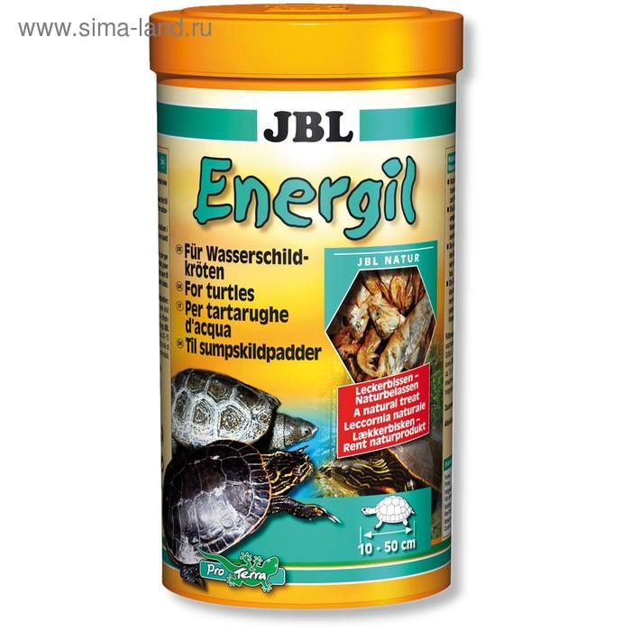 Корм JBL Energil для крупных водных черепах, высушенные рыбы и рачки, объём 1 л, 170 г