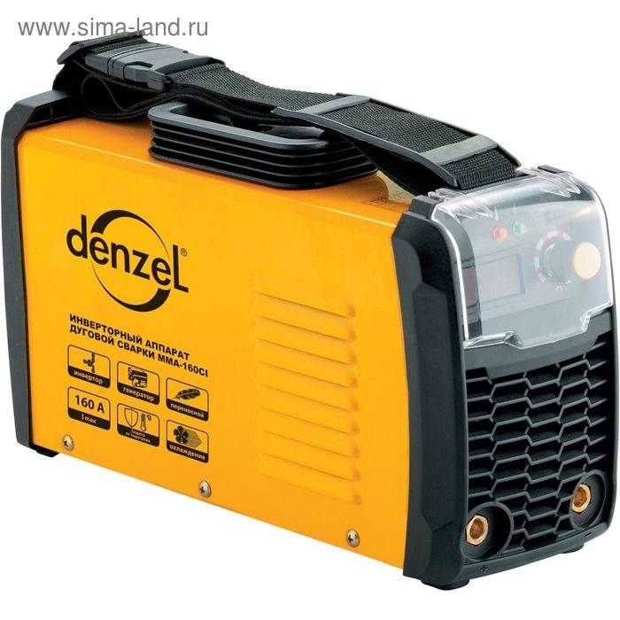 Инверторный аппарат дуговой сварки DENZEL ММА-160CI, 160 А, ПВР 80%, диам. 1,6-4 мм