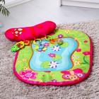 Развивающий коврик «Веселые зверушки», с подушечкой