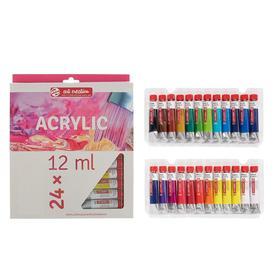 Краска акриловая в тубе набор 24 цвета*12 мл Royal Talens Art Creation 902172