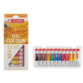 Краски масляные художественные набор в тубах 12 цветов*12 мл Royal Talens Art Creation 902011