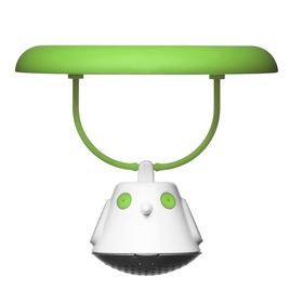 Емкость для заваривания чая с крышкой Birdie Swing, зелёная