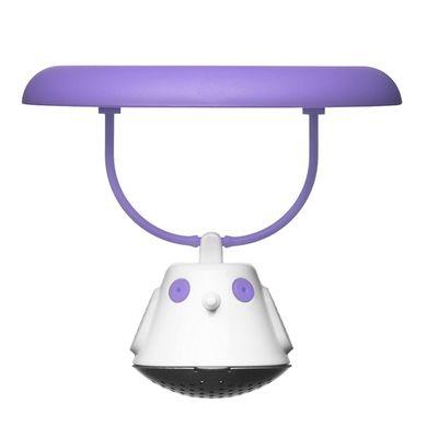 Емкость для заваривания чая с крышкой Birdie Swing, фиолетовая - Фото 1