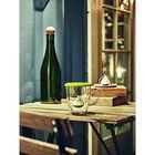Емкость для заваривания чая с крышкой Birdie Swing, фиолетовая - Фото 3
