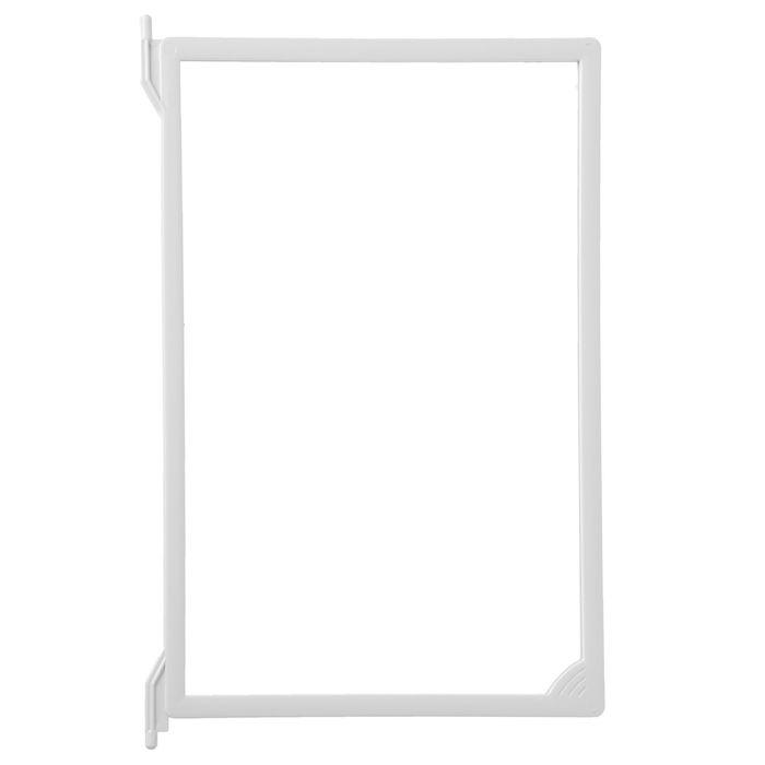 Рамка пластиковая для перекидной системы A4, INFOFRAME, без протектора, цвет белый