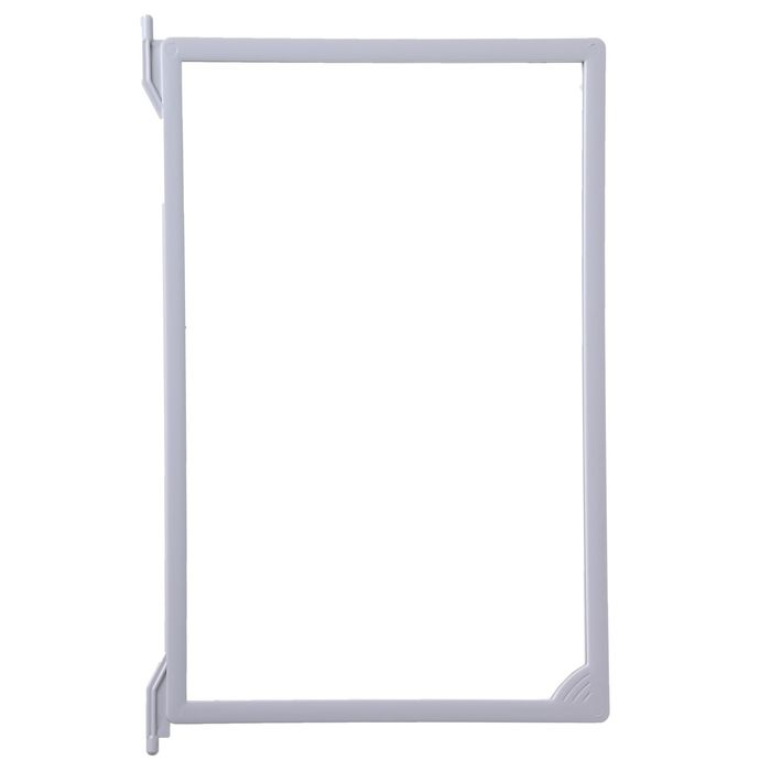 Рамка пластиковая для перекидной системы A4, INFOFRAME, без протектора, цвет серый