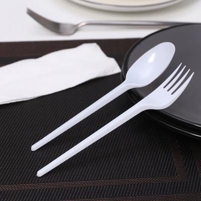 Набор одноразовых приборов «Мини», 3 шт: вилка, столовая ложка, салфетка