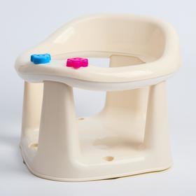 Детское сиденье для купания на присосках, цвет оранжевый Ош