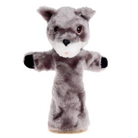 Мягкая игрушка на руку «Волк Би-ба-бо»