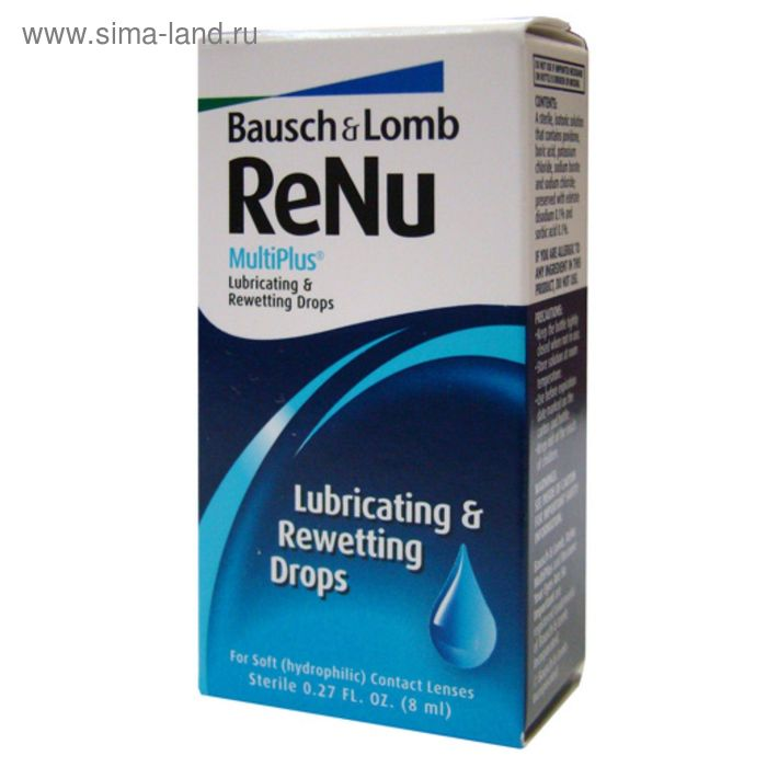 Раствор Renu MultiPlus 8 мл (капли)