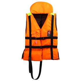 Жилет спасательный «Лоцман», универсальный с подголовником, 80-120 кг Ош