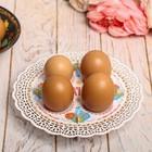 Подставка пасхальная на 4 яйца «Вышивка»