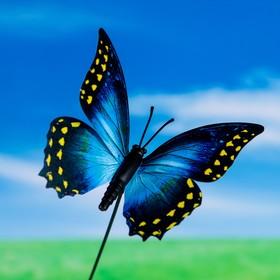 Штекер декоративный для комнатных растений 'Бабочка' 7х8см, 25см Ош