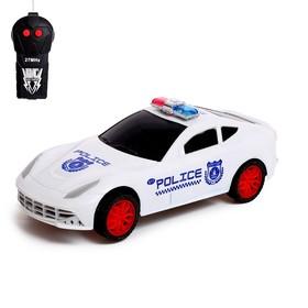 Машина радиоуправляемая «Гоночный патруль», работает от батареек, световые эффекты