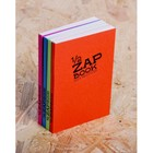 Блокнот для рисунков А6, 80 листов на склейке Clairefontaine Zap Вook, 80 г/м², 4 вида