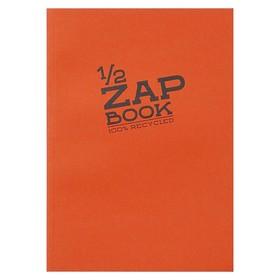 Блокнот для рисунков А5, 80 листов на склейке Clairefontaine Zap Вook, 80 г/м², 4 вида