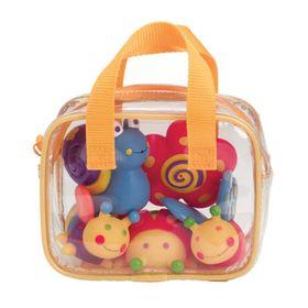 Игрушки для ванны «Сад» 4 предмета, в сумке, от 6 месяцев