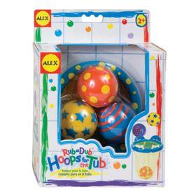 Игрушки для ванны «Мячики в сетке», 4 предмета, от 2 лет