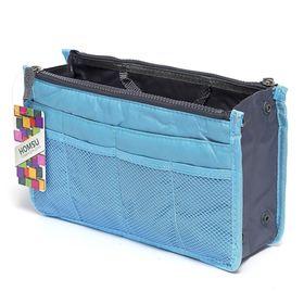 Органайзер для сумки, цвет голубой
