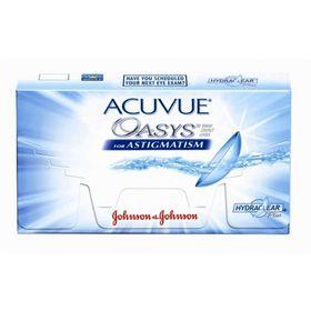 Контактные линзы Acuvue Oasys for Astigmatism, -1.0/8,6/-1.25/170, в наборе 6шт Ош