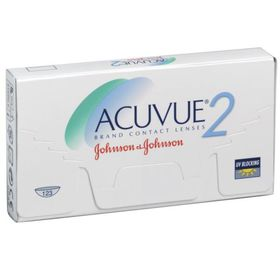 Контактные линзы Acuvue 2, -12/8,3, в наборе 6шт